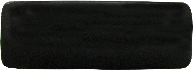 Extra Wide Glasses Case For Men, Large Eyeglass Case In Matte Black Faux Leather