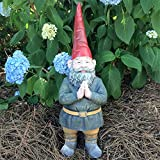 Gnomes of Toad Hollow -'Mordecai The Garden Gnome Praying Hands Figurine Statue 20' H
