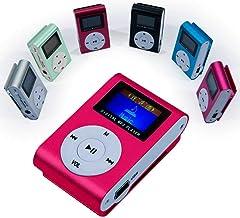 OcioDual Mini Reproductor MP3 Player Clip LCD Aluminio hasta