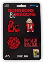 Dungeons & Dragons Enamel Pin Set | Exclusive 2019 Collector's Series Pins | Set of 4