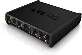 AXE I/O 2-channel audio interface with guitar tone shaping, amp output and software recording bundle