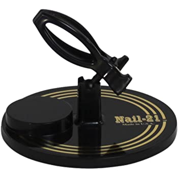 Hands Free Nail Polish Bottle Holder (Black)