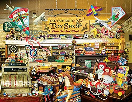 salida de fábrica An Old Fashioned Fashioned Fashioned Toy Shop a 1000-Piece Jigsaw Puzzle by Sunsout Inc. by SunsOut  tienda de descuento