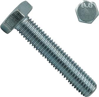 DIN 931//DIN 982 - SC931//SC982 Edelstahl A2 V2A 100 St/ück SC-Normteile/® - M5x30 - - Maschinenschrauben//Stoppmuttern hohe Form Sechskantschrauben mit Schaft und Sicherungsmuttern
