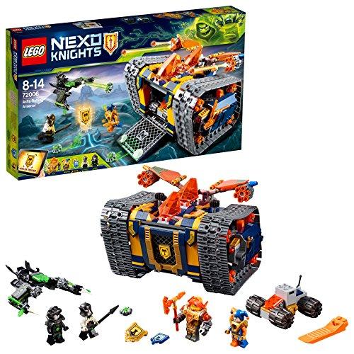 LEGO- Nexo Knights Arsenale Rotolante di Axl, Multicolore, 72006