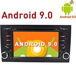 MCWAUTO for Audi A4/S4/RS4 2002 2003 2004 2005 2006 2007 2008 2 Din 7 inch Android 9.0 Car GPS Stereo Radio Navigation with USB/Steering Wheel Control/Bluetooth/Wifi/4G/DVD Player