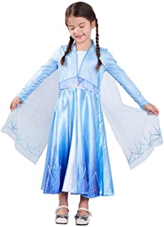 Tsyllyp Girl's Snow Princess Dress Halloween Costumes Birthday Party Pageant Cosplay Christmas Outfit