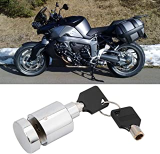 Disc Brake Lock, Portable Anti-theft Metal Heavy Duty Lock for Motorcycle Bicycle Bike