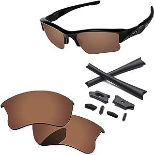 PapaViva Lenses & Rubber Kits for Oakley Flak Jacket XLJ