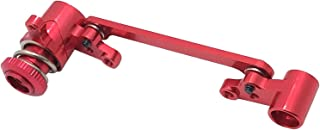 Tongina Metal Steering Assembly Kit for 1/14 Wltoys 144001 RC Car Upgrade Parts, 5 Colors Optional - Red