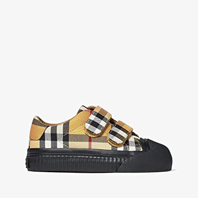 Burberry Kids Belside VC (Toddler) (Antique Yellow/Black) Kid