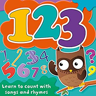123: Learn to Count with Songs and Rhymes cover art