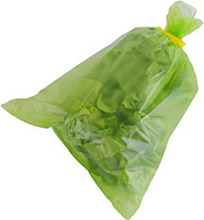 Yueshico Reusable Food Saver Green bags Stayfresh Longer Vegetable Storage Bags, 30 x 43cm (25PCS in one roll, 2 rolls)