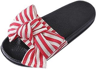 Sandals for women fiesta, Covermason Chanclas para mujer Slip-On Peep Toe Cómodo calzado para verano al aire libre