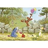 壁紙 輸入壁紙 紙 ドイツ製 ディズニー プーさん Winnie Pooh Ballooning 8-460 壁紙単品 Z3K