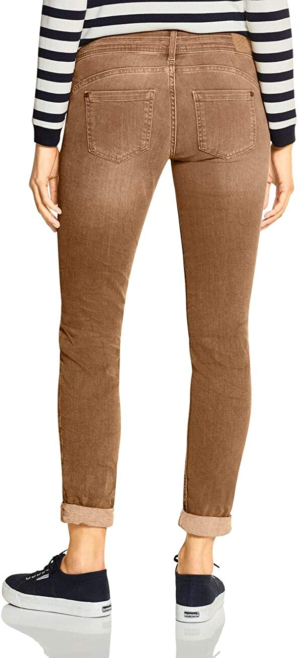 Street One Jane Jeans Femme Camel Colour Denim