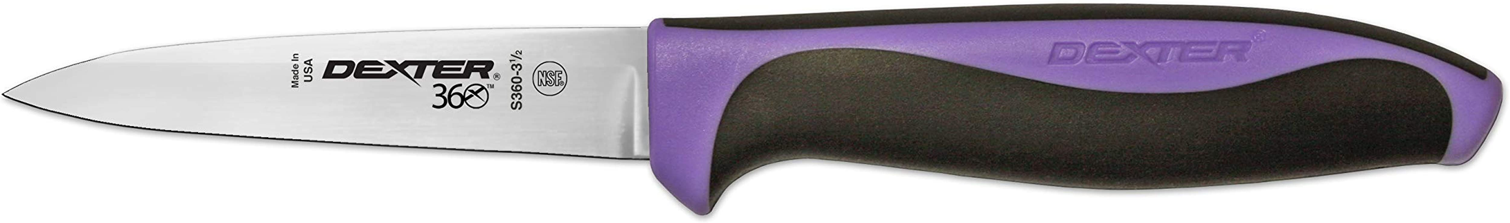 3 Paring Knife Purple Handle