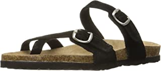 Northside Womens Anya Leather Strap Cork Sandal