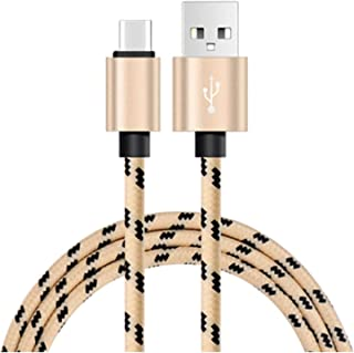 كابل USB 1M 2M 3M USB نوع C شاحن البيانات متوافق مع هاتف Samsung S9 متوافق مع Huawei LG G6 متوافق مع Xiaomi Mi 9 10 متوافق...