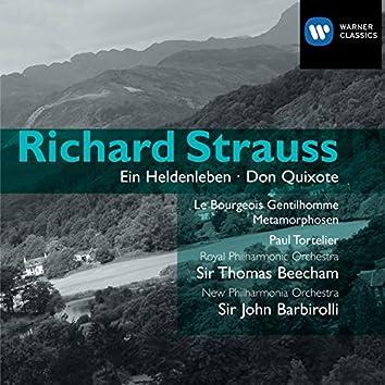 Strauss: Ein Heldenleben, Don Quixote etc