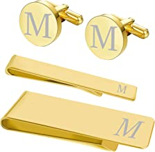 Best gold tie clips and cufflinks Reviews