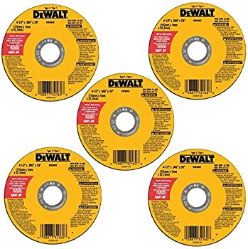 5-Pack DeWalt 4-1/2