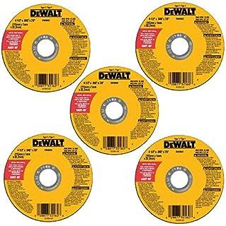 DEWALT DW8062B5 4-1/2-Inch by 0.045-Inch Metal and...