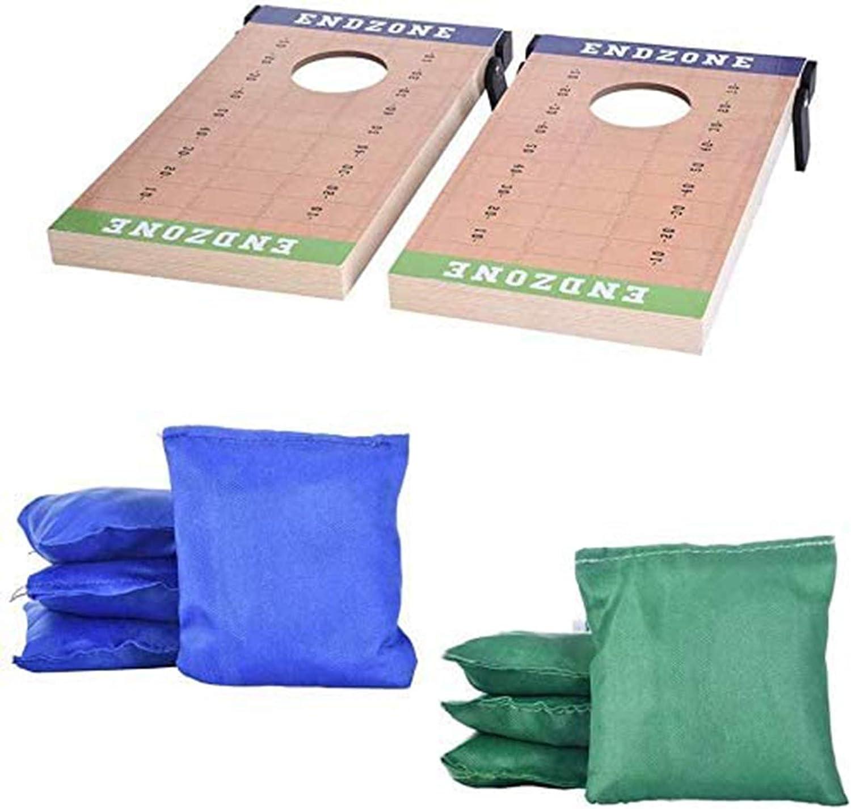 Portable Wood Cornhole Set Kids Mesa Mall Toys 8 with Gam 2Board Max 54% OFF Bean Bags