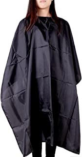 Docooler Professional Barber Hair Cutting Cape Cover Salon Hair Styling Black