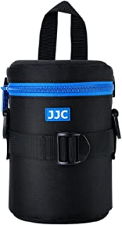 JJC Deluxe Lens Case Pouch for Canon EF-S 18-135mm/17-55mm/17-85mm/55-250mm/24-70mm f4L,Nikon AF-S 18-200mm/18-105mm/100-300mm/55-200mm,Sony E 55-210mm and other Lens below 3.15