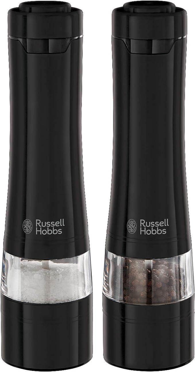 5459 opinioni per Russell Hobbs 28010-56 Macina Sale & Pepe, Include Illuminazione alla Base, Lame