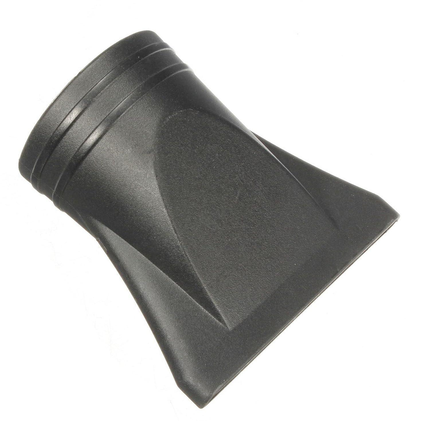 求人派生する気楽なJicorzo - 1PCSプラスチックサロン交換フェラフラットヘアドライヤー乾燥コンセントレータブラックノズルスタイリングツールのフードカバーワイド狭いサイズ[ワイド]