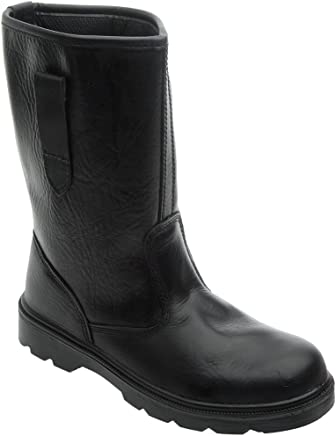 Grafters Safety Toe-Cap, Lined, Rigger Boot
