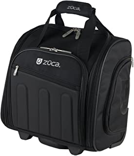 Zuca Skipper - Compact Wheeled Suitcase w Telescoping Handle, Laptop Compartment