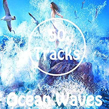 50 Tracks Ocean Waves Sounds with Ambient Music for Meditation Relaxation Healing Reiki New Age