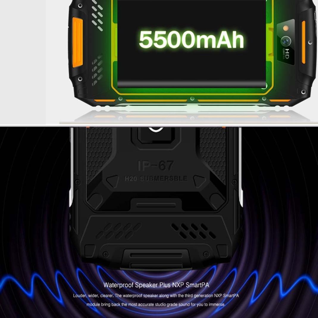 QHJ Guophone X2 Smartphone (5 Pulgadas) Pantalla táctil, 16 GB de ...