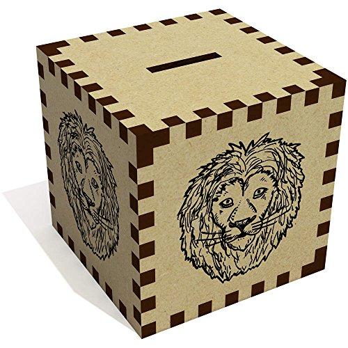 Azeeda 'Löwens Gesicht' Sparbüchse / Spardose (MB00000230)