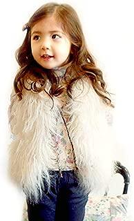 faux fur vest in spring