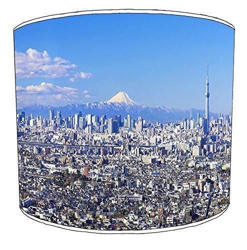 Premier Lighting Ltd 25cm Stadt von Tokyo Lampenschirme7 Für eine Deckenleuchte