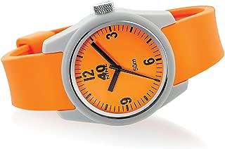 Women's Basic Japanese-Quartz Watch with Silicone Strap, Orange, 16 (Model: 40N2.3L)