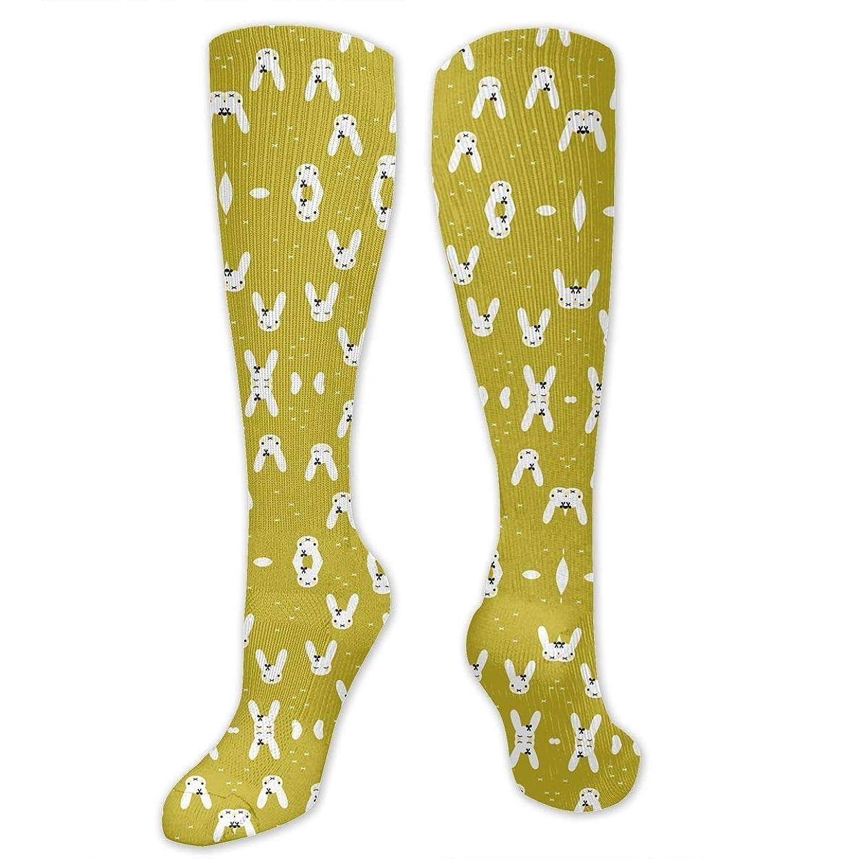 安西一月朝食を食べる靴下,ストッキング,野生のジョーカー,実際,秋の本質,冬必須,サマーウェア&RBXAA Cute Spring Bunny Socks Women's Winter Cotton Long Tube Socks Cotton Solid & Patterned Dress Socks