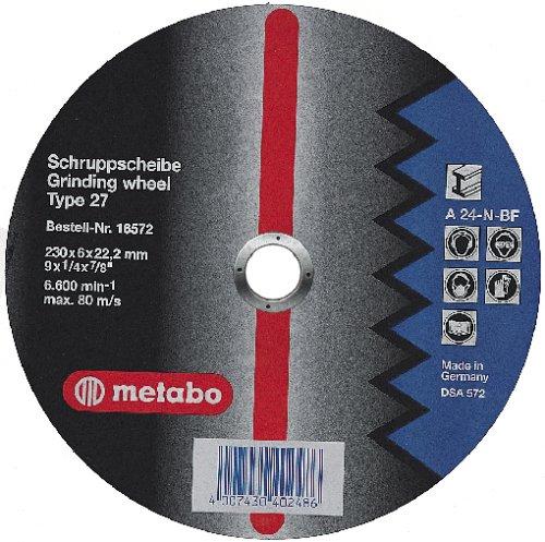 Metabo 616730000 616730000-Disco de desbaste para Amoladora Angular Flexiamant A24-N Metal embutido...