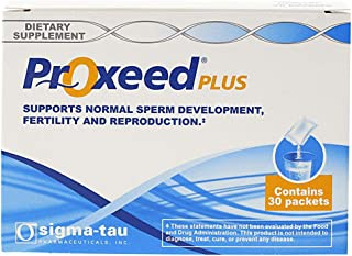 Proxeed Plus - Male Fertility Supplement - 30 Servings