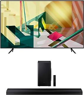 "Samsung QN85Q70TA 85"" 4K Ultra High Definition QLED Smart HDR TV with a Samsung HW-Q60T Wireless 5.1 Channel Soundbar and ..."
