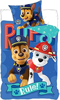 Paw Patrol Spin Master 710-325 Nickelodeon Bed Linen Set Duvet 140 x 200 cm + Pillow 70 x 90 cm