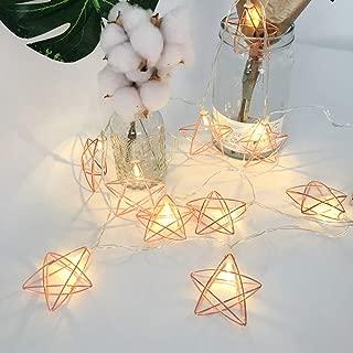 Best rose gold geometric light Reviews