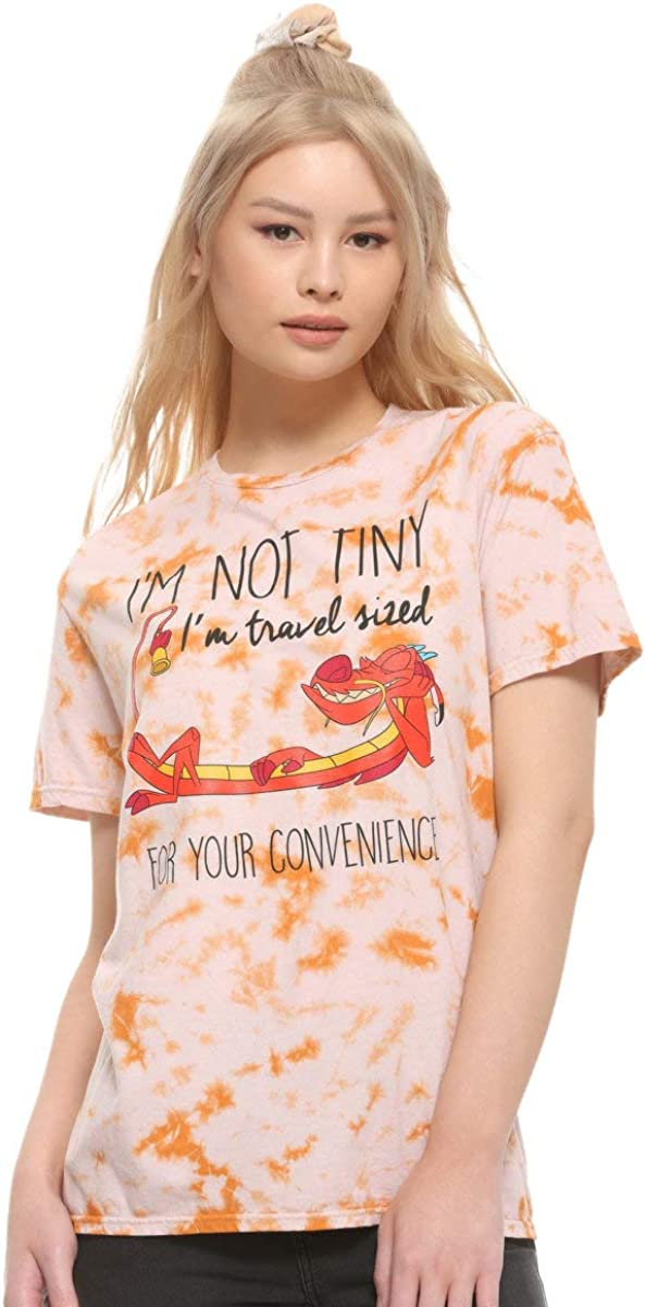 Hot Topic Disney Mulan Mushu Tie-Dye Girls T-Shirt Exclusive