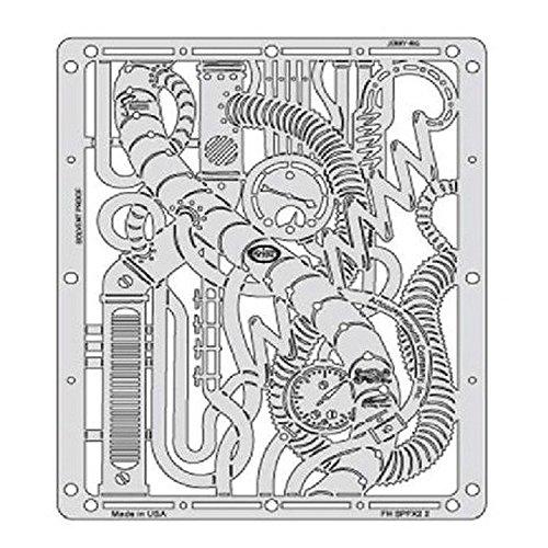 Airbrush sjabloon ARTOOL Steampunk FX2