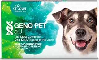 ORIVET Dog DNA Test | GENOPET 5.0 Complete DNA Testing for Dogs for Breed Identification and Comprehensive Health Screen