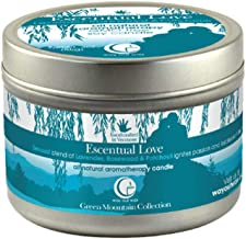 product image for Way Out Wax Aromatherapy Scented Candle, Escentual Love Fragrance, (3 oz Medium Travel Tin); Hand Poured Soy Candles Scented w/Pure Essential Oils, All-Natural